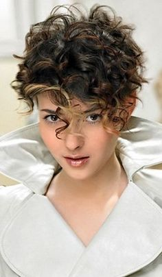 Short Hair Styles For Thick Curly Hair - The best location to look for good deals as well as discover the cheapest costs is to use your pc at home. Pixie Haircut For Thick Hair, Thick Curly Hair, Curly Hair Cuts, Curly Hair Styles, Frizzy Hair, Curly Short Hair Cuts For Women, Curly Bob, Short Curly Haircuts, Pixie Hairstyles