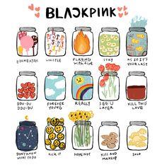 Cute Food Drawings, Kawaii Drawings, Printable Stickers, Cute Stickers, Kpop Aesthetic, Aesthetic Art, K Pop, Casa Anime, Black Pink Kpop
