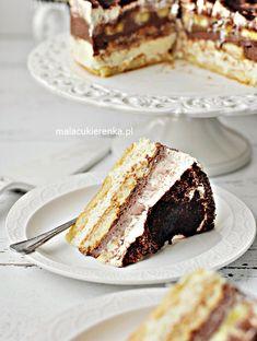 Ciasto Torcik Bananowe Niebo Bez Pieczenia - PRZEPIS Mała Cukierenka