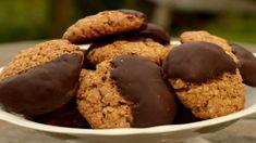 Polomáčené ovesné sušenky