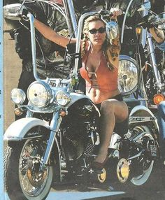 Ape Hangers on a Woman, Sweet!( www.bikerdatingsite.net ---meet local bikers for riding buddies and relationship )