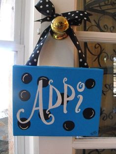 Cute gift to make out of a small canvas for a big or little