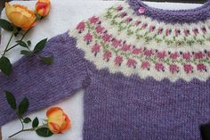 A Bláklukka for ages I loved the picture of this jumper so much and kept coming back and back to it, imagining how beautiful my nieces would look in it and how perfect it was for their sunny. Knitting Ideas, Knitting Patterns Free, Hand Knitting, Free Pattern, Women's Sweaters, Sweaters For Women, How To Start Knitting, Inspiration For Kids, Knits