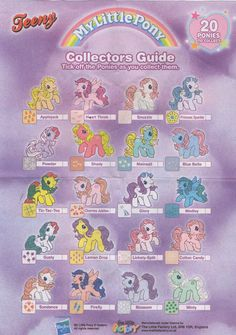 My Little Pony Collectors Guide