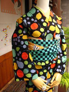 Fruits pattern Kimono