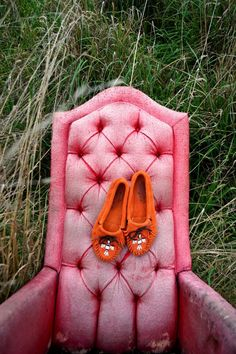 This Etsy listing is actually for the moccasins but it's the chair that makes my heart beat faster...