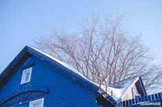 Tempete de neige, montréal, canada
