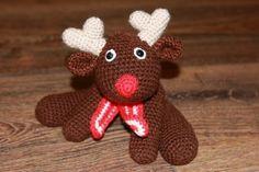 crochet amigurumi reindeer