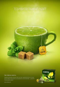 来杯水果茶系列广告(原图尺寸:740x1071px)