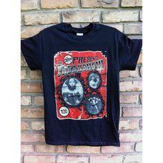 Freak Show Shirt Sideshow Shirt Freakshow Shirt Horror Shirt Circus... ($15) ❤ liked on Polyvore featuring tops, t-shirts, grey, women's clothing, gray top, gray t shirt, grey shirt, tee-shirt and shirt top
