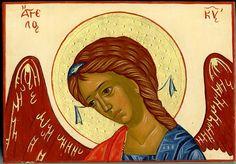 Holy Angel icon Church Icon, Archangel, Serbian, Ikon, Disney Characters, Fictional Characters, Angels, Greek, Disney Princess