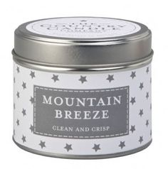 Mountain Breeze - Candle in Tin