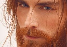 Sophisticated Inverted Lob - 20 Inspiring Long Layered Bob (Layered Lob) Hairstyles - The Trending Hairstyle Ginger Men, Ginger Beard, Ginger Hair, Beautiful Red Hair, Gorgeous Redhead, Beautiful Men, Redhead Men, Long Red Hair, Red Hair Man