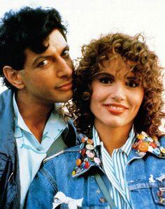 Jeff Goldblum & Geena Davis 1988