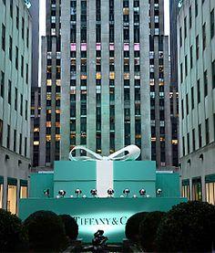 New York City!!!  I want to go.   Tiffany & Co.