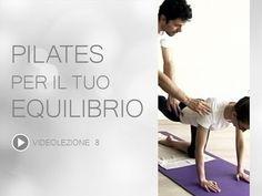 Video Pilates Lezione 8 | Pilates per il tuo Equilibrio - YouTube