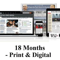 Get Some Exciting Deals On An WSJ One Year Subscription From A Top Vendor