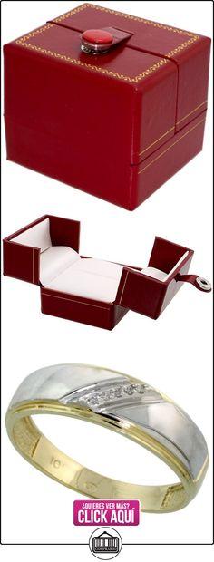 Revoni - Juego de alianzas de oro amarillo  ✿ Joyas para hombres especiales - lujo ✿ ▬► Ver oferta: http://comprar.io/goto/B005M3D39U