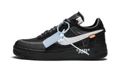 f5a1abbb195f The 10  Nike Air Force 1 Low Black White  Off-White Black