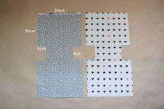 Fabric Gift Bag Tutorial ~ DIY Tutorial Ideas!
