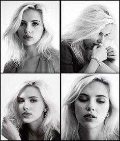 Scarlett Johanson, my blonde hair envy