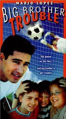 Big Brother Trouble is a terribly boring kids movie from Hemisphere Entertainment. An 11yo boy is infatuated with his new 16yo neighbor, but he becomes outraged that she is attracted to his big brother, a star soccer player. Character actor Bo Hopkins plays the town mafioso who tries to get big brother to fix the big game point spread, first by bribing him and then by kidnapping him. Little bro and buddies to the rescue.