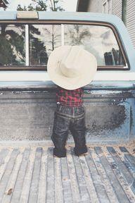 Baby boy Cowboy Pict