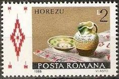Stamp%3A%20Horezu%20(Romania)%20(Romanian%20pottery)%20Mi%3ARO%204431%2CYt%3ARO%203794%20%23colnect%20%23collection%20%23stamps