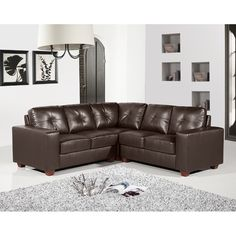 How to enhance the look of a Brown Leather Sofa?