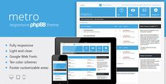 Metro — #Responsive Premium Template #phpBB 3.1 #PhpBBForums via @medosadvert