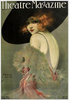 theatre magazine oct 1920 by  Illustration by Henry Clive