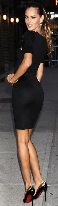 The must have black dress(and a perfect length!)