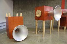 yuri suzuki: garden of russolo sound installation at V&A during london design festival 2013 - designboom   architecture & design magazine