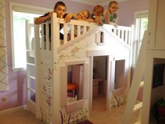Mindy Bunk Bed - Theme Beds for Girls - Beds