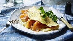 Raymond Blanc shows you how to make a perfect omelette with smoked salmon.