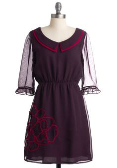 Plum Me to You Dress.  It's like early Blair Waldorf <3  It calls to me :P