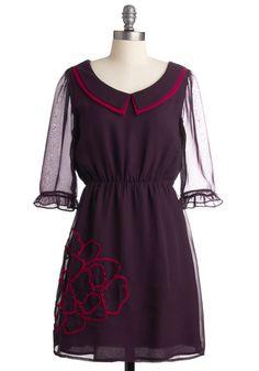 Plum Me to You Dress.  It's like early Blair Waldorf <3  It calls to me :P