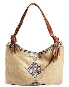 style court: irving and fine for lucky embroidered bag