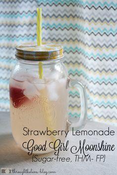 Strawberry Lemonade Good Girl Moonshine