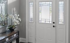 Learn why so many people choose steel entry doors for their home in Toronto. Your source for steel doors & door installations in Toronto for over 60 years. Steel Panels, Steel Doors, Entry Doors, Windows, Furniture, Design, Home Decor, Decoration Home, Entrance Doors