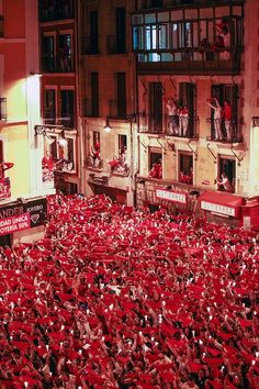 Bullfighting festival Pamplona, Spain... The Sun Also Rises