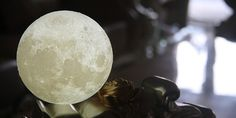 The Moon Lamp Japanese interior design , is an unique lamp made from 3D layers and the best technology to create a realistic moon in your room.