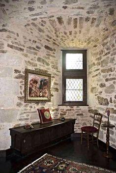 The Princess Room on Third Level | Medieval Castle de Montbrun, Dournazac, Haute-Vienne, France