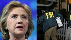 Hillary Clinton and FBI agents
