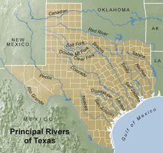 What Are The Three Border Rivers Of Texas - Best Image Border Texas Texans, Texas Cowboys, Texas Usa, Texas Maps, South Texas, Austin Texas, Oklahoma, San Antonio Bay, Texas Hill Country
