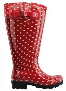 Extra Wide Calf Women's Rubber Rain Boots: Up to 21 Inch Calf ...