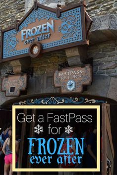 Inside Frozen Ever After, guest are welcomed to attend a Summer Snow Day Celebration in honor of the day that Queen Elsa saved her sister, Princess Anna.