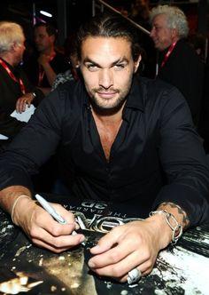 Khal Drogo!  Jason Mamoa!!!!!!