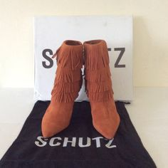 "Schutz Kassia Leather Heels Size US 7 UK 37 Schutz Kassia Leather Heels Size US 7 UK 37 heel height 4"" ❌ sorry no trades - price is firm even if bundled ❌ SCHUTZ Shoes Heeled Boots"