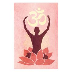 A lovely addition to your home gym or studio, this artful canvas print features a yoga-inspired motif.  Product: Wall art ...